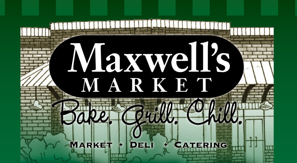 Shreveport, Bossier, MrMenu.biz, Maxwell's Market Menu Cover, Maxwell's Market Logo, Maxwell's Market, Lafayette