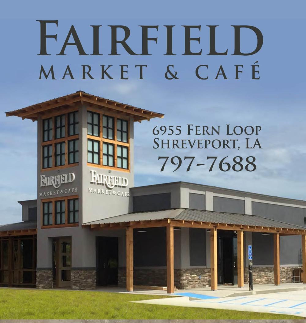 Shreveport, Bossier, MrMenu.biz, 2015 Fairfield Market & Cafe Logo, Advertisement