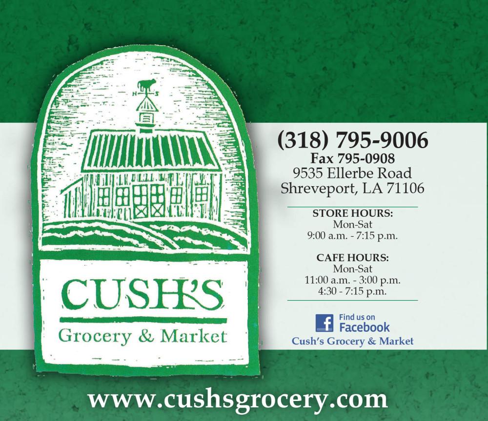 Shreveport, Bossier, MrMenu.biz, Crush's Grocery & Market, 2015 Crush's Grocery Logo, Ellerbe Road