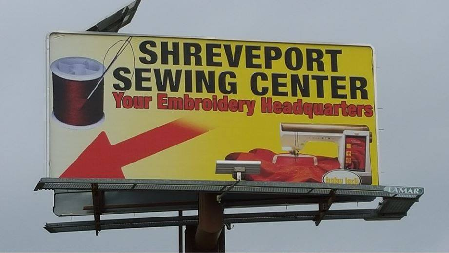 sewing center shreveport